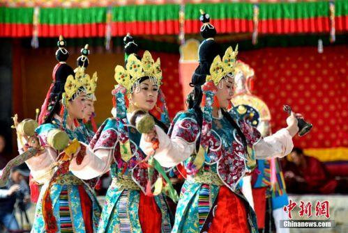 Tibetan cultural arts that inscribed on World Intangible